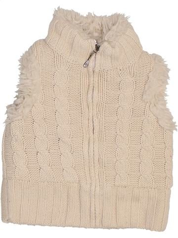 Gilet fille STORE TWENTY ONE blanc 3 ans hiver #1465189_1