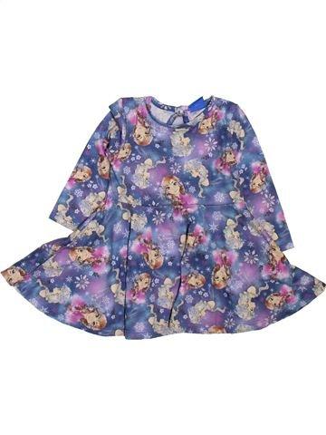 Vestido niña DISNEY BABY azul 9 meses invierno #1465850_1