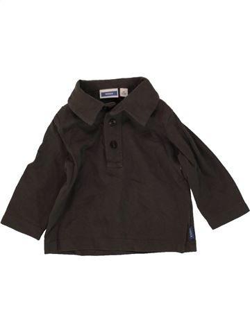 T-shirt col roulé garçon MEXX marron 6 mois hiver #1467176_1