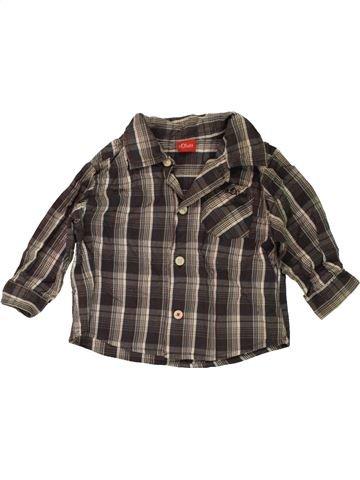 Chemise manches longues garçon S.OLIVER gris 6 mois hiver #1467391_1