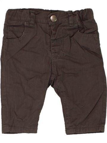Pantalón niño TISSAIA marrón 3 meses invierno #1467689_1