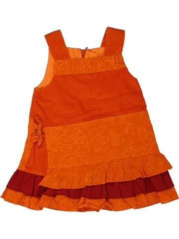 Vestido niña MARÈSE naranja 9 meses invierno #1469076_1