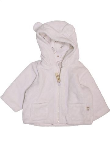 Gilet garçon BABY blanc 3 mois hiver #1469406_1