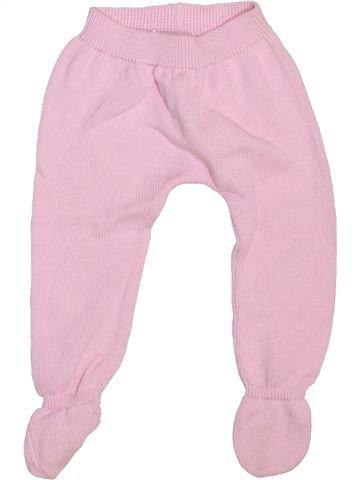 Pantalon fille NECK & NECK rose 6 mois hiver #1469940_1