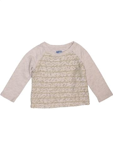 Sweat fille GAP rose 18 mois hiver #1470258_1