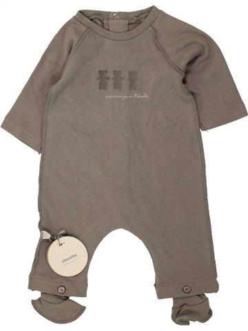 Pijama de 1 pieza niño ABSORBA marrón 1 mes verano #1470313_1