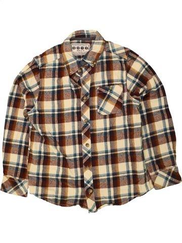 Camisa de manga larga niño BOYS marrón 9 años invierno #1470517_1