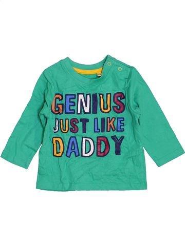 Camiseta de manga larga niño BHS verde 3 meses invierno #1471136_1