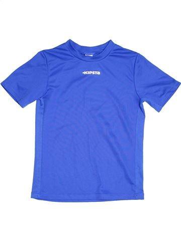 Maillot de sport garçon KIPSTA bleu 10 ans été #1471496_1