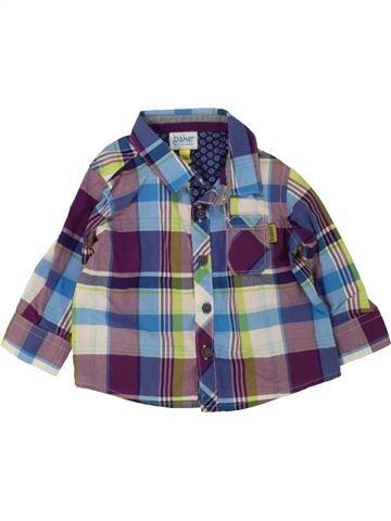 Chemise manches longues garçon BAKER violet 6 mois hiver #1471693_1