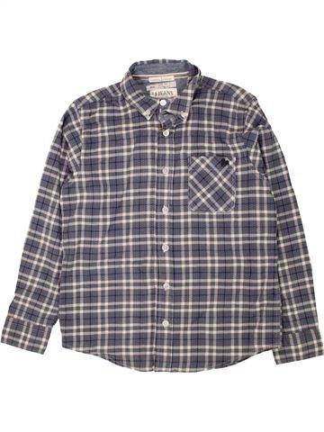 Chemise manches longues garçon JASPER CONRAN gris 10 ans hiver #1471907_1