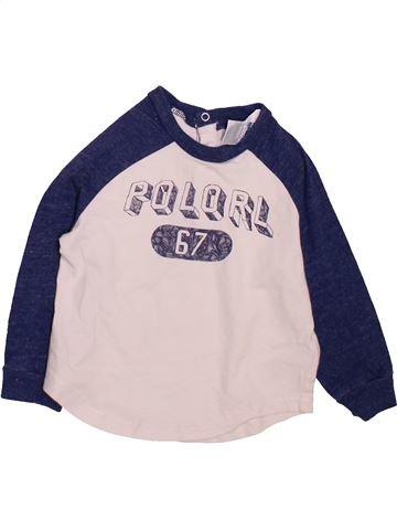 T-shirt manches longues garçon RALPH LAUREN violet 12 mois hiver #1472628_1