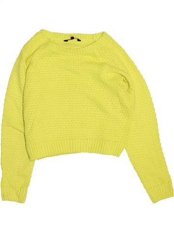 Pull fille CANDY COUTURE jaune 13 ans hiver #1473366_1