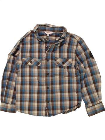 Chemise manches longues garçon KIABI gris 4 ans hiver #1473388_1