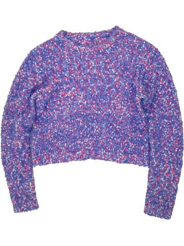 Pull fille MISS E-VIE violet 12 ans hiver #1474711_1