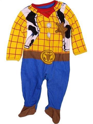 Pijama de 1 pieza niño GEORGE amarillo 6 meses verano #1475272_1