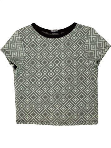 T-shirt manches courtes fille CANDY COUTURE gris 9 ans été #1475808_1