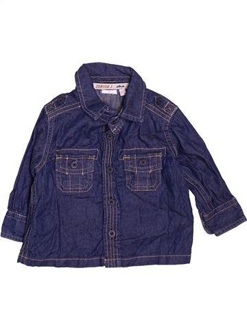 Camisa de manga larga niño JASPER CONRAN azul 3 meses invierno #1476185_1