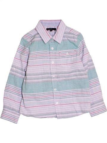 Camisa de manga larga niño MARKS & SPENCER blanco 6 años invierno #1476774_1