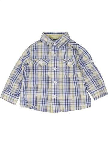 Chemise manches longues garçon MINI CLUB gris 6 mois hiver #1476966_1