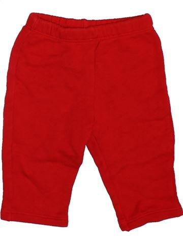 Pantalón niño BENETTON rojo 6 meses invierno #1478069_1