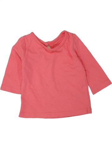 Camiseta de manga larga niña CHEROKEE rosa 3 meses invierno #1478107_1