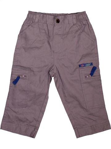 Pantalon garçon SMILE violet 18 mois été #1478574_1