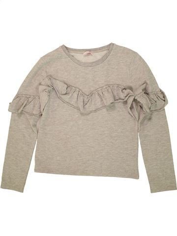 Sweat fille KYLIE beige 12 ans hiver #1479491_1
