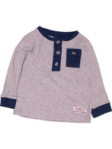 Camiseta de manga larga niño BHS gris 6 meses invierno #1479565_1