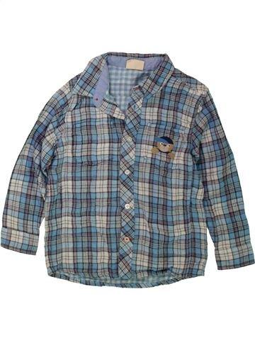 Chemise manches longues garçon PRENATAL bleu 3 ans hiver #1480499_1