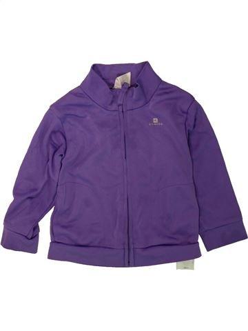 Ropa deportiva unisex DOMYOS violeta 2 años invierno #1480877_1