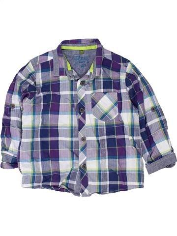 Chemise manches longues garçon TED BAKER gris 3 ans hiver #1480993_1