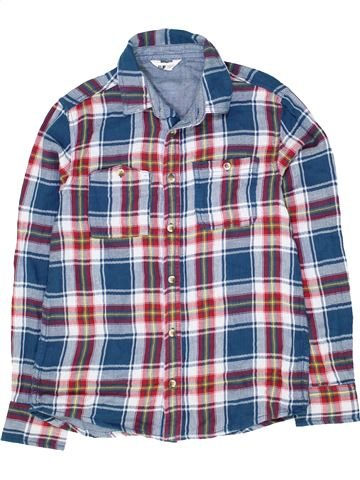 Chemise manches longues garçon FLIPBACK gris 13 ans hiver #1481345_1