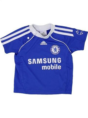 Camiseta deportivas niño ADIDAS azul 6 meses verano #1481567_1