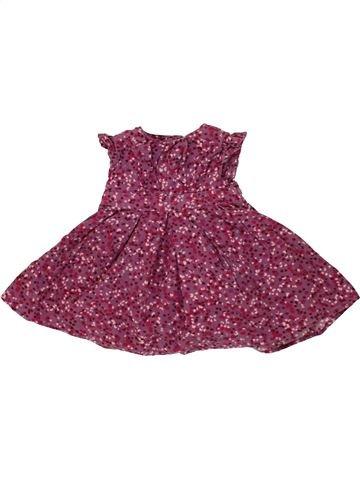 Robe fille MAMAS & PAPAS violet 9 mois hiver #1481683_1