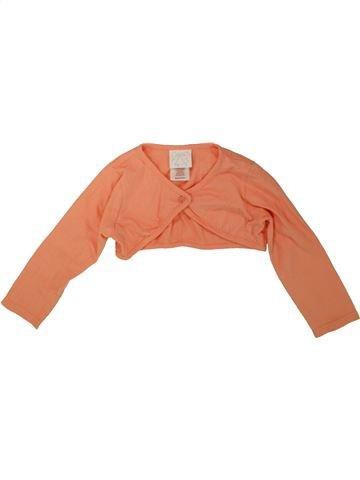 Boléro fille MINI MOI orange 3 ans été #1482006_1