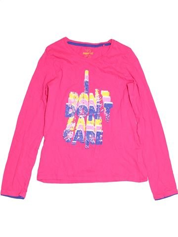 T-shirt manches longues fille PEPPERTS rose 12 ans hiver #1482121_1