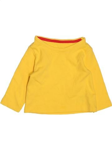 T-shirt col roulé garçon MARKS & SPENCER jaune 6 mois hiver #1483002_1