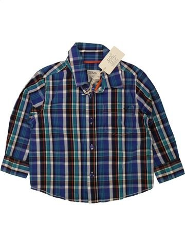 Chemise manches longues garçon RJR JOHN ROCHA bleu 18 mois hiver #1483244_1