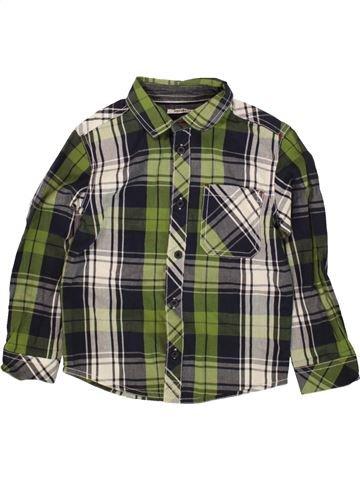 Chemise manches longues garçon PEP&CO vert 5 ans hiver #1483604_1