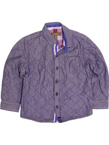 Chemise manches longues garçon TED BAKER violet 5 ans hiver #1483637_1