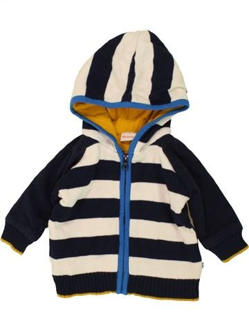 Chaqueta niño BLUEZOO azul oscuro 6 meses invierno #1483737_1