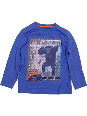 T-shirt manches longues garçon DUNNES STORES bleu 3 ans hiver #1483882_1