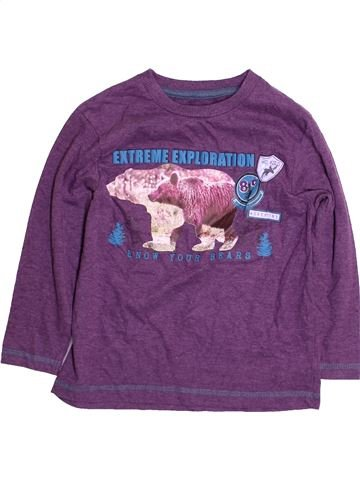 Camiseta de manga larga niño DUNNES STORES violeta 4 años invierno #1484185_1