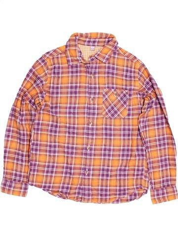 Chemise manches longues garçon UNIQLO rose 10 ans hiver #1484235_1