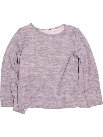 Pull fille PEP&CO gris 7 ans hiver #1484240_1