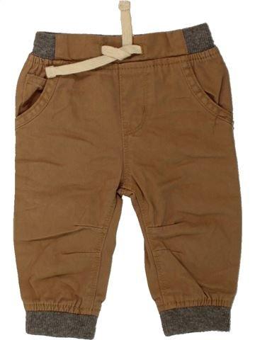 Pantalon garçon BABY marron 6 mois hiver #1484289_1