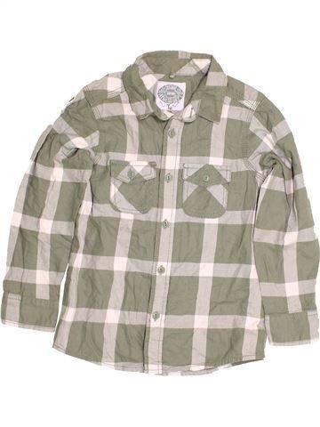 Chemise manches longues garçon TU gris 7 ans hiver #1484453_1