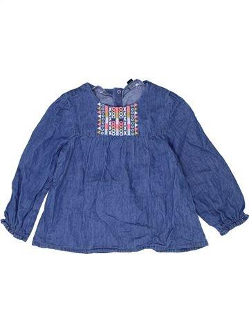 Chemise manches longues garçon KIABI bleu 3 ans hiver #1484586_1