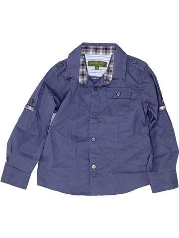 Chemise manches longues garçon TED BAKER bleu 4 ans hiver #1484716_1